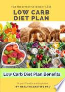 Low Carb Diet Plan Benefits