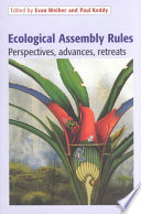 Ecological Assembly Rules