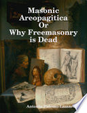 Masonic Areopagitica or Why Freemasonry Is Dead