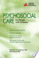 Psychosocial Care For People With Diabetes