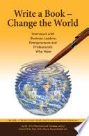 Write A Book Change The World