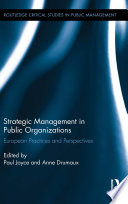 Strategic Management in Public Organizations
