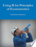 Using R for Principles of Econometrics