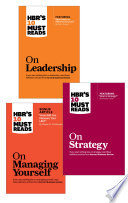 The HBR s 10 Must Reads Leader s Collection  3 Books   HBR s 10 Must Reads