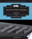 Directions in Music Cataloging