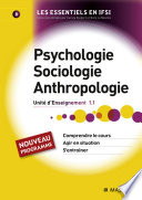illustration Psychologie, sociologie, anthropologie