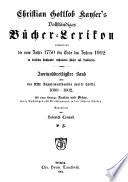 Vollst  ndiges B  cher Lexicon     1750 1910