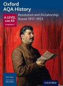 Oxford a Level History for AQA  Revolution and Dictatorship  Russia 1917 1953