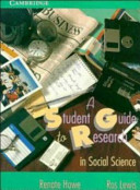 A Student Guide to Research in Social Science