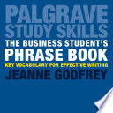 The Business Student s Phrase Book