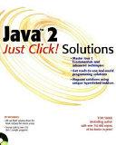 Java 2 Just Click  Solutions
