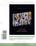 Psychology  Books a la Carte Plus New Mypsychlab with Etext    Access Card Package