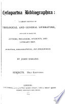 Cyclopaedia Bibliographica Book PDF