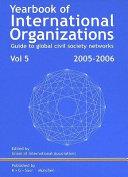 Yearbook Of International Organizations book
