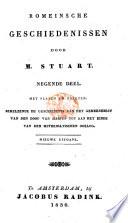 Romeinsche Geschiedenissen ... Nieuwe uitgave gewijzigd voor deze uitgave door A. A. Stuart. Bladwijzers ... opgemaakt door W. Chevalleran