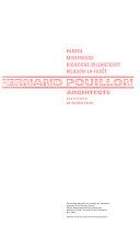 Fernand Pouillon  architecte