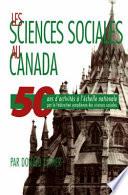 illustration du livre Sciences Sociales Au Canada