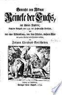 Heinrichs von Alkmar Reineke der Fuchs