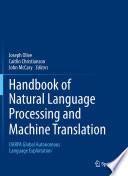 Handbook of Natural Language Processing and Machine Translation