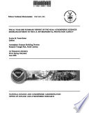 Fiscal Year ... Summary Report of NOAA Atmospheric Sciences Modeling Division Support to the Environmental Protection Agency
