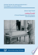 Ludwig Prandtl   A Personal Biography Drawn from Memories and Correspondence