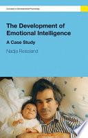 The Development of Emotional Intelligence