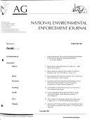 National Environmental Enforcement Journal