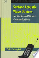 Surface Acoustic Wave Devices for Mobile and Wireless Communications