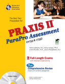 Praxis II Parapro Assessment 0755 and 1755 W CD ROM