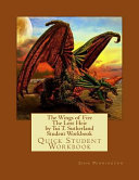 The Wings of Fire the Dragonet Prophecy by Tui T  Sutherland Student Workbook