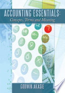 Accounting Essentials  Concepts  Terms and Meaning