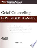 Grief Counseling Homework Planner With Download