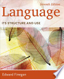 Language  Its Structure and Use