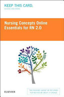 Nursing Concepts Online Essentials for Rn 2 0