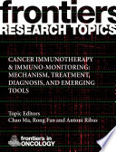 Cancer Immunotherapy   Immuno monitoring  Mechanism  Treatment  Diagnosis  and Emerging Tools