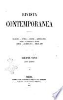 Rivista contemporanea filosofia  storia  scienze  letteratura  poesia  romanzi  viaggi  critica  archeologia  belle arti
