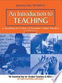 An Introduction to Teaching