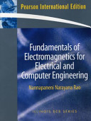 Fundamentals of Electromagnetics for Electrical and Computer Engineering