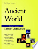 Ancient World  Lesson Overviews  5th ed