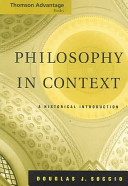 Philosophy in Context