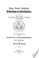 Franz Daniel Pastorius Beschreibung von Pennsylvanien