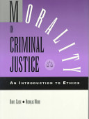 Morality in Criminal Justice