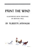 Paint the wind