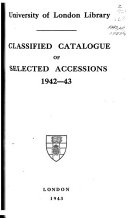 Accessions List