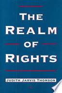 The Realm Of Rights : and legal thinking, but much of the use...