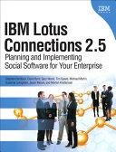 IBM Lotus Connections 2.5