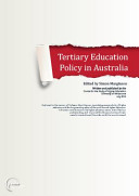Tertiary Education Policy in Australia