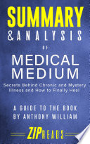 Summary Analysis Of Medical Medium