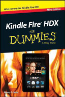 Kindle Fire X for Dummies, Mini Edition
