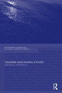 Tourism and Animal Ethics
